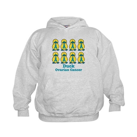 Ducks for a Cause Ovarian Cancer Kids Hoodie