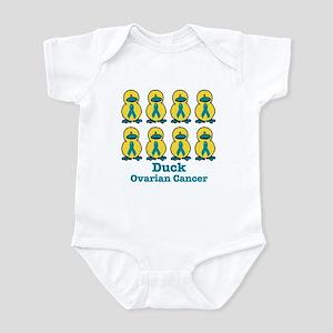 Ducks for a Cause Ovarian Cancer Infant Bodysuit