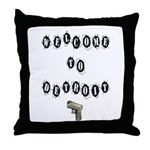 Welcome to Detroit Throw Pillow