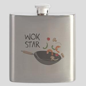 Wok Star Flask