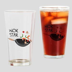 Wok Star Drinking Glass