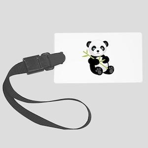 Panda Bear Luggage Tag