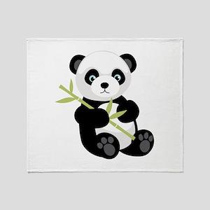 Panda Bear Throw Blanket