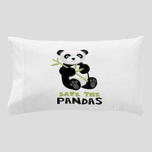 Save The Pandas Pillow Case