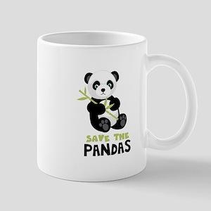 Save The Pandas Mugs