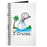 Cruising Stick Figure Journal