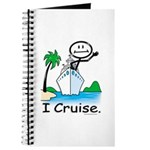 Cruising Stick Figure Journal