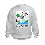 Cruising Stick Figure Sweatshirt