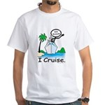 Cruising Stick Figure T-Shirt