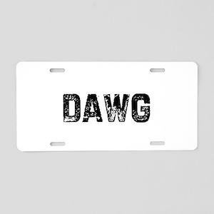 I0514072003124 Aluminum License Plate