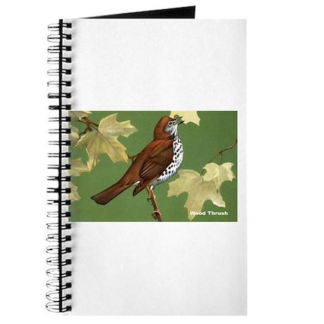 Wood Thrush Bird Journal