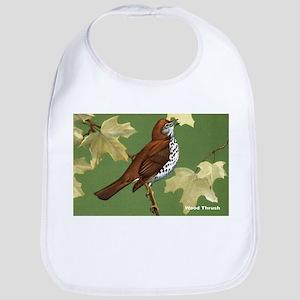 Wood Thrush Bird Bib
