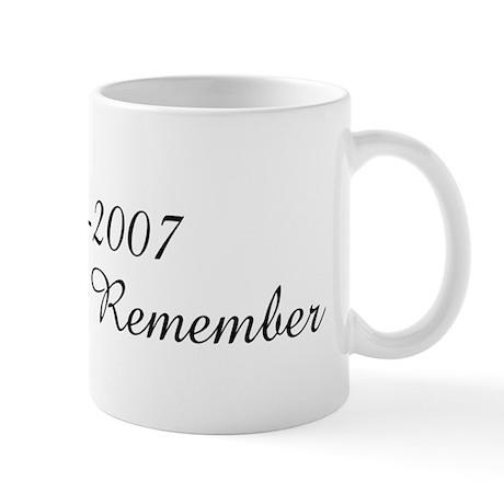 08-26-2007 A Date To Remembe Mug