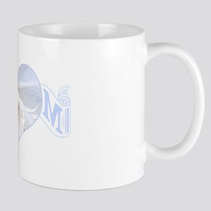 Mom's heart with white orchid Mug