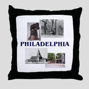 ABH Philadelphia Throw Pillow
