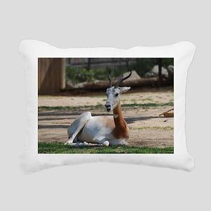Dama Gazelle Rectangular Canvas Pillow