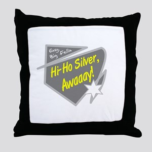 Hi-Hi Silver/The Lone Ranger Throw Pillow