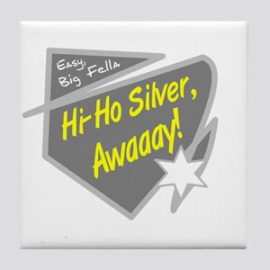 Hi-Hi Silver/The Lone Ranger Tile Coaster
