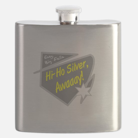Hi-Hi Silver/The Lone Ranger Flask