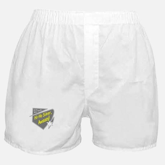 Hi-Hi Silver/The Lone Ranger Boxer Shorts