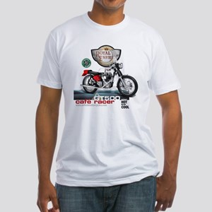 Style With Stamina Cafe Racer Fitted T-Shirt