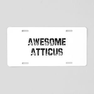 I1129060140184 Aluminum License Plate