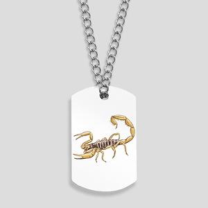 Scorpion Dog Tags