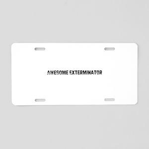 I1217060055147 Aluminum License Plate