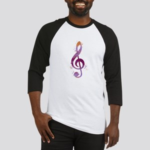 Treble clef Baseball Jersey