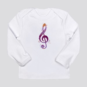 Treble clef Long Sleeve T-Shirt