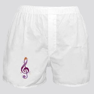 Treble clef Boxer Shorts