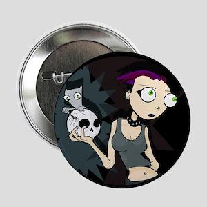 Germaine & Foamy W/ Skull Button