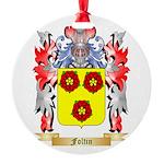 Foltin Round Ornament