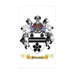 Folomkin Sticker (Rectangle 50 pk)