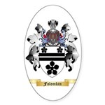 Folomkin Sticker (Oval)