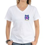 Follot Women's V-Neck T-Shirt