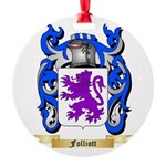 Folliott Round Ornament