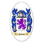 Folliott Sticker (Oval 10 pk)