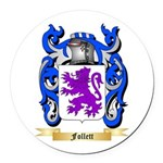 Follett Round Car Magnet