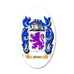 Follet 35x21 Oval Wall Decal