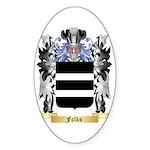 Folks Sticker (Oval 10 pk)