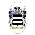 Folks Sticker (Oval 50 pk)