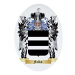 Folks Ornament (Oval)