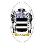 Folkes Sticker (Oval 10 pk)