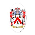 Folini Oval Car Magnet