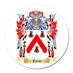 Folini Round Car Magnet