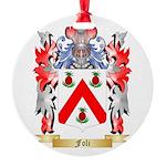 Foli Round Ornament