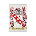 Folger Rectangle Magnet (100 pack)