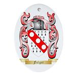 Folger Ornament (Oval)