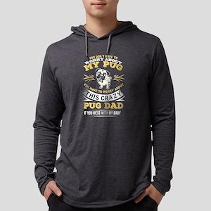 Pug Dog design Long Sleeve T-Shirt